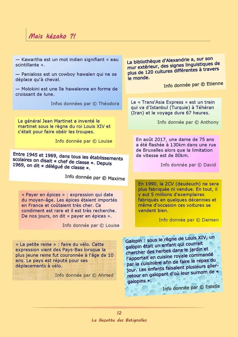La Gazette des Batignolles n°3 Lgdb0322