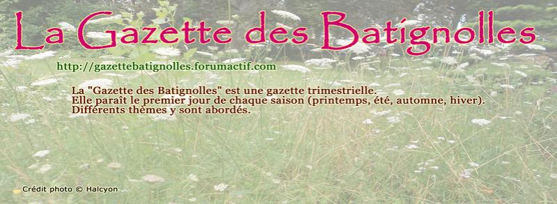 La Gazette des Batignolles