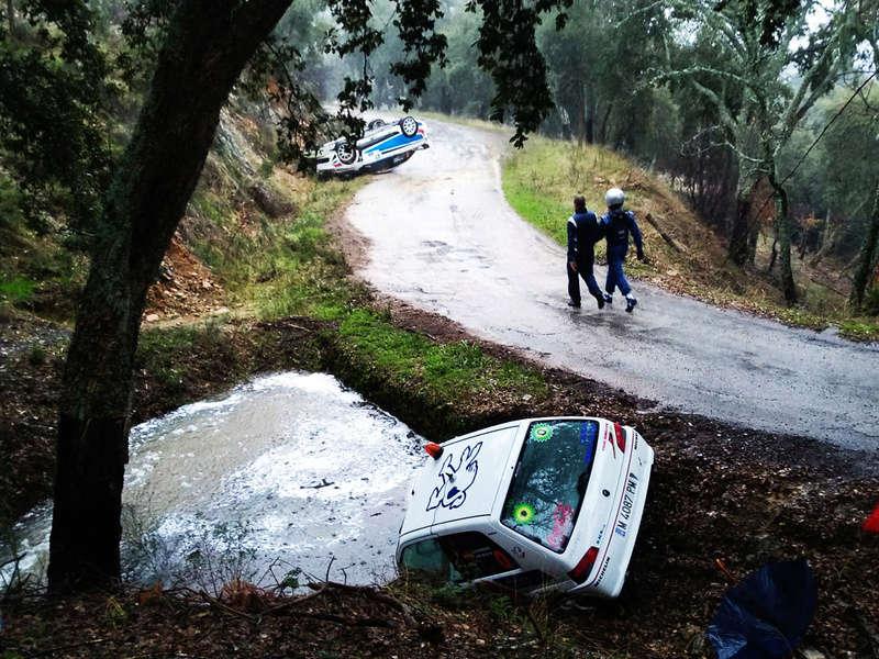 Rally 2018 al paso por Cañamero. Rally10
