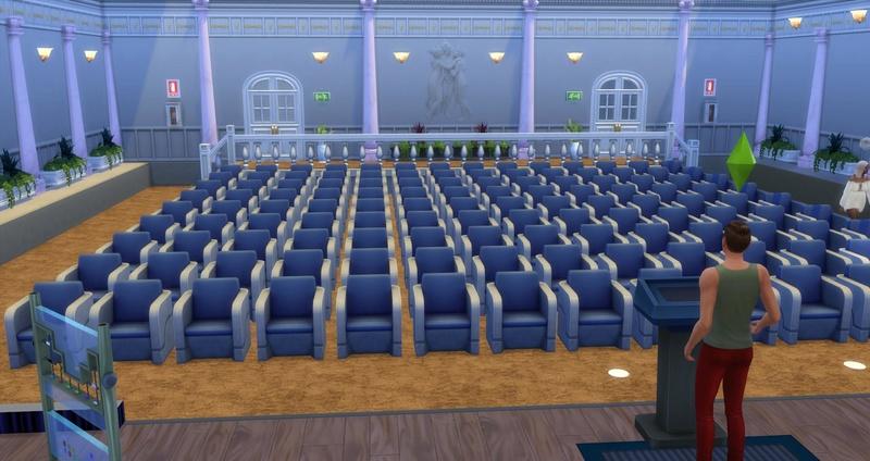 ** Palacio de Congresos de Nova Calabruix (salón de actos) Palau_10