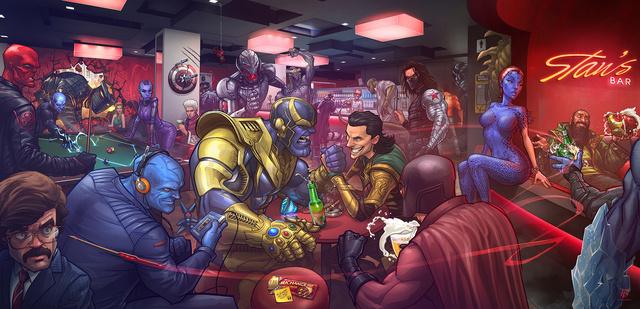Titula la novela a partir de la imagen Marvel10
