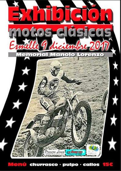 I exhibición de motos clásicas Esmell10