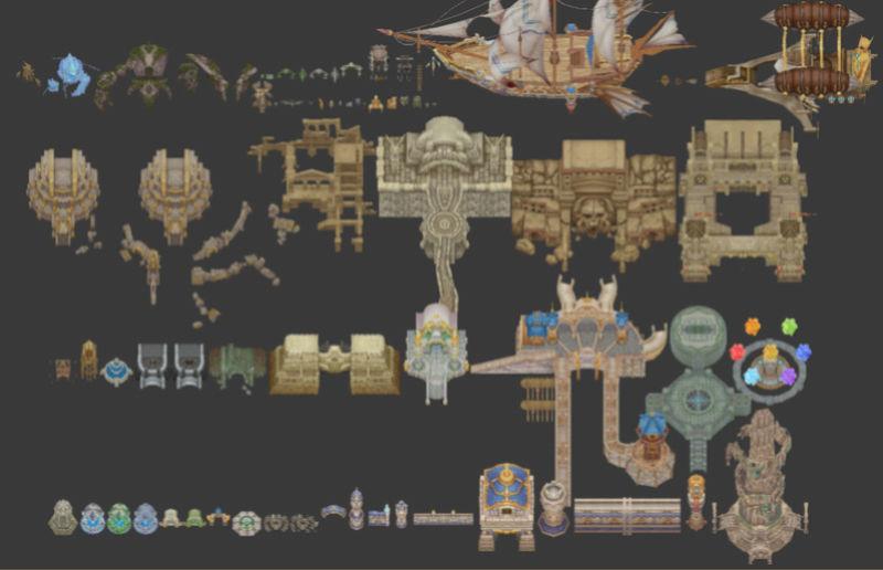 Medieval Modern Pack Tiles 1310
