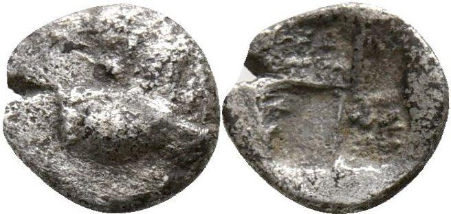 Tracia, Chersonesos . Hemiobolo. 500 a.C. 31310