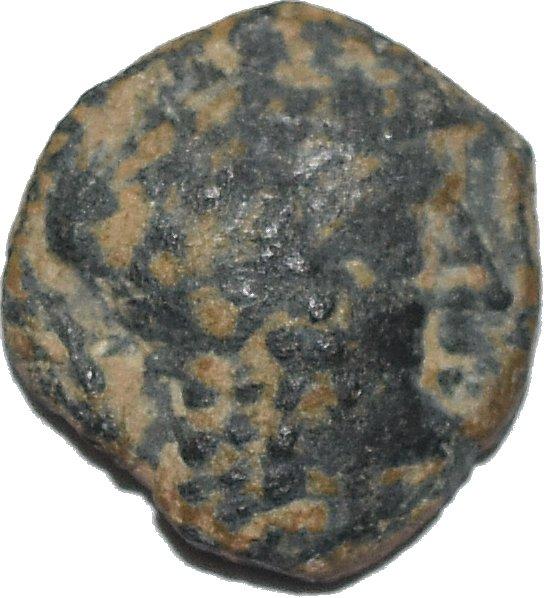 AE21 de Aretas II. Petra 31810