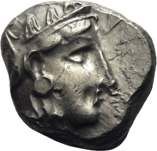 atenas - Mesopotamia, Tetradracma del Satrapa Mazakes. 331-320 a.C. Imitando los Tetradracmas de Atenas 325a11