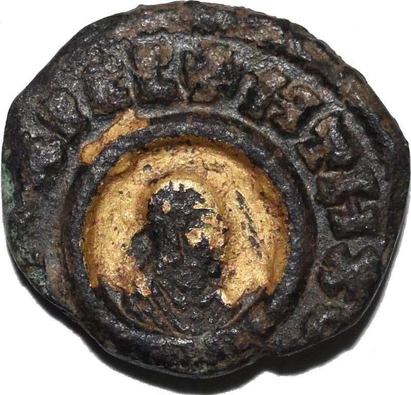 Æ15, Rey Ouazebas. Reino de Aksum o Axum. Ca. 350-400 d.C. Dedicado al Maestro Benyusuf 34312