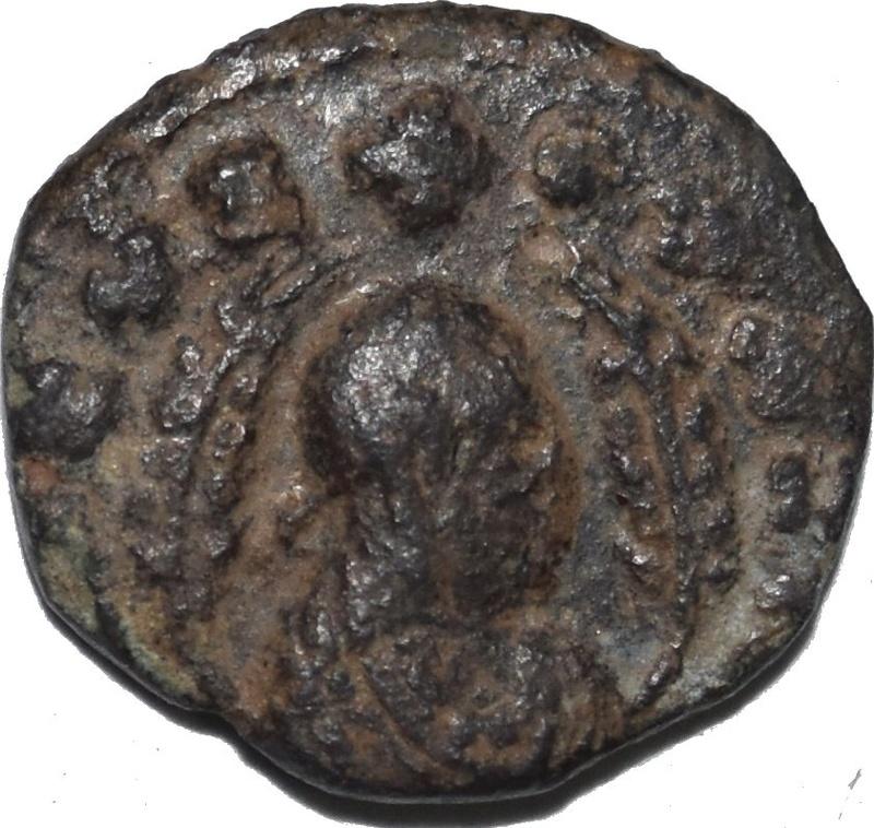 Æ15, Rey Ouazebas. Reino de Aksum o Axum. Ca. 350-400 d.C. Dedicado al Maestro Benyusuf 343a12