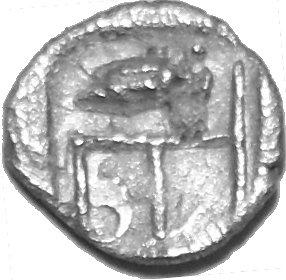 Tetartemorion de Colofón. Jonia 348a11