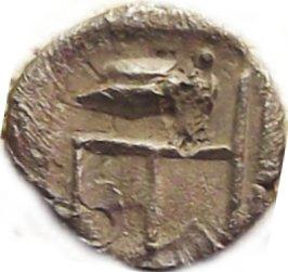 Tetartemorion de Colofón. Jonia 348b10