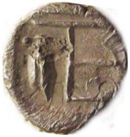 Tetartemorion de Colofón. Jonia 348b11
