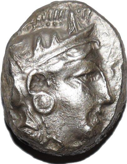 Mesopotamia, Tetradracma del Satrapa Mazakes. 331-320 a.C. Dedicado a Numismatico2013 34910