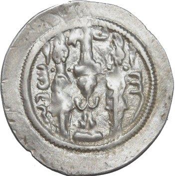 Dracma de Hormazd IV. 351a10