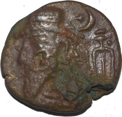 Reino de Elymais. Tetradracma de Kamnaskires VI ó VII ó rey incierto. Siglo I-II d.C. 35810