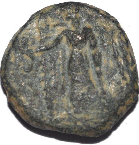 AE15 de Aretas II ó III. Petra. (Reino de los Nabateos) 365a10