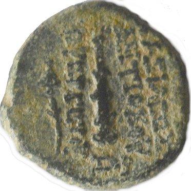 AE14 de Antíoco VII Evergetes 368a10