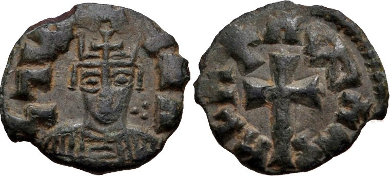 Æ12, Rey Joel. Reino de Aksum o Axum. Ca. 580-620 d.C. 37210
