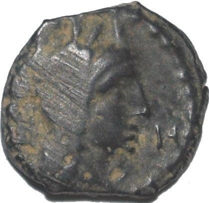 AE14 de Aretas IV a nombre de su hijo Phasael. 37410
