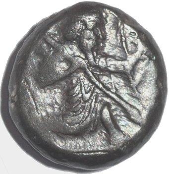 Siclo aqueménida de Artaxerxes I - Artaxerxes II, c. 450 - 375 a. C 38910