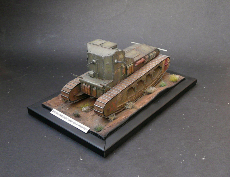 Mk A «Whippet»,1\35,Meng P1090210