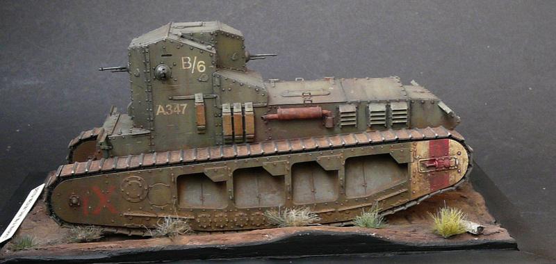 Mk A «Whippet»,1\35,Meng P1090211