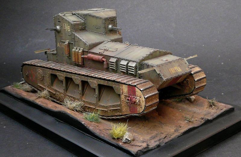 Mk A «Whippet»,1\35,Meng P1090212