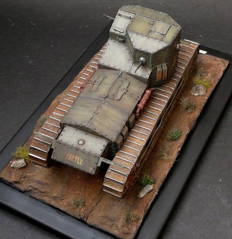 Mk A «Whippet»,1\35,Meng P1090216