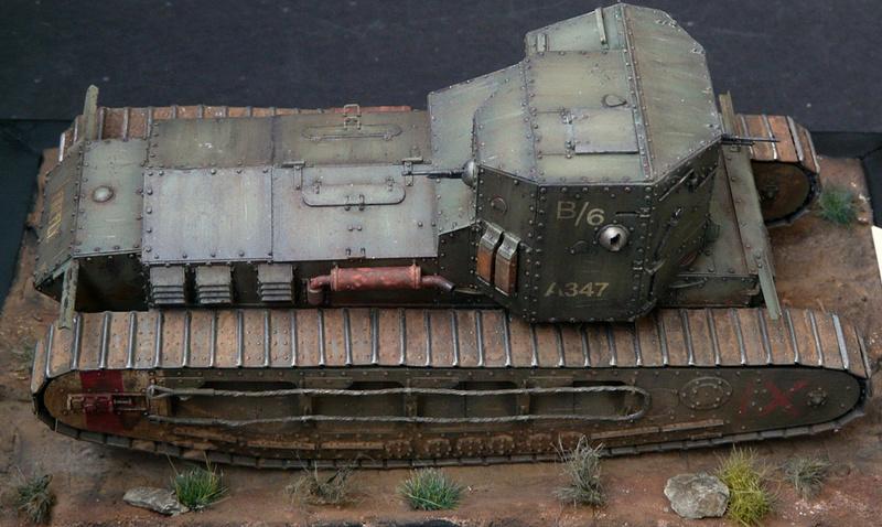Mk A «Whippet»,1\35,Meng P1090217
