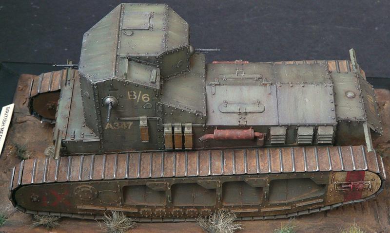Mk A «Whippet»,1\35,Meng P1090218