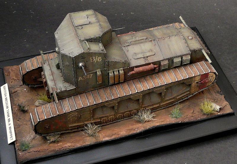 Mk A «Whippet»,1\35,Meng P1090221