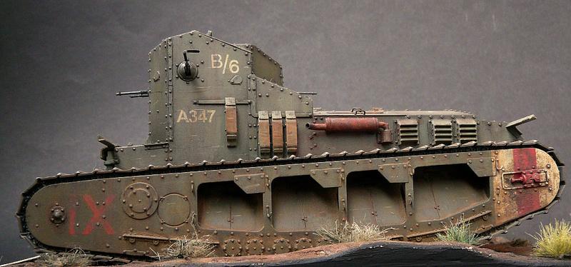 Mk A «Whippet»,1\35,Meng P1090223