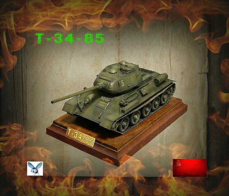 Моделист 1/35  Т-34-85 Photol10
