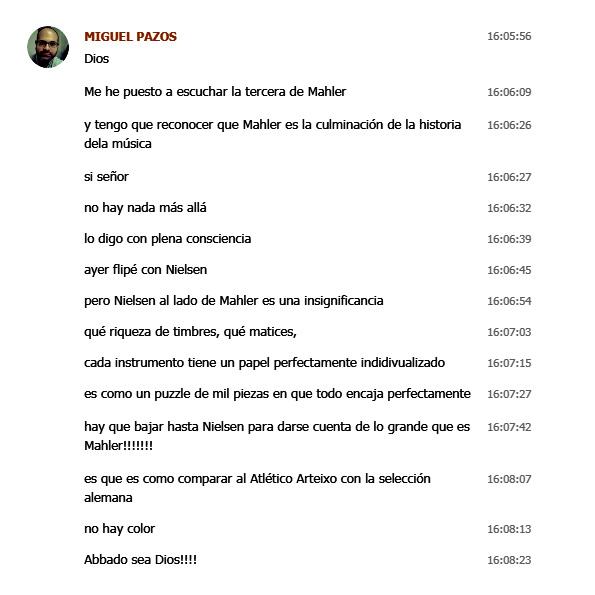 Why Mahler? - Página 4 Miguel10