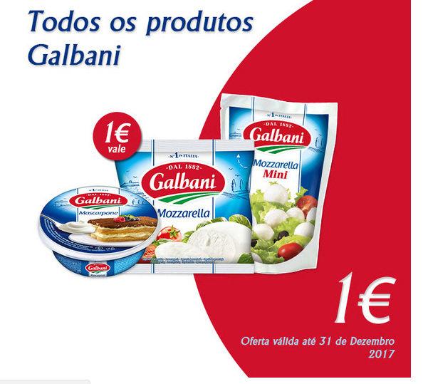 Amostras Galbani - Vales para todos os produtos 23146410