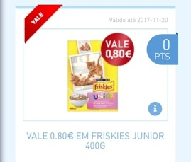 Amostras My Nestlé - Vale Friskies Junior 23513510