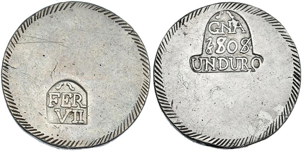 gerona - Duro de 1808. Fernando VII. Gerona 40694210