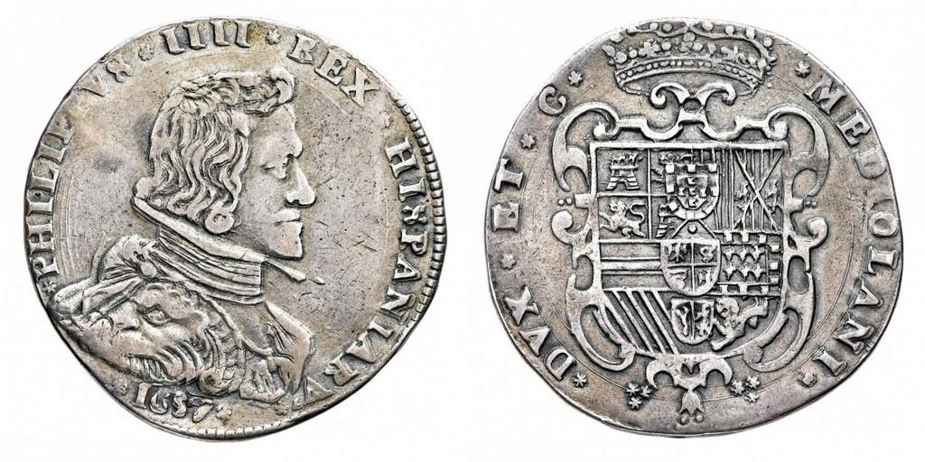 Filippo IV di Spagna (1621-1665) - Filippo 1657  45569910