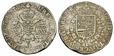 Patagón de los Archiduques Alberto e Isabel, ceca de Amberes (sin fecha). 97260410