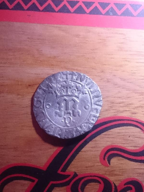 1 Vintem (20 reis). Manuel I de Portugal Dsc_0010