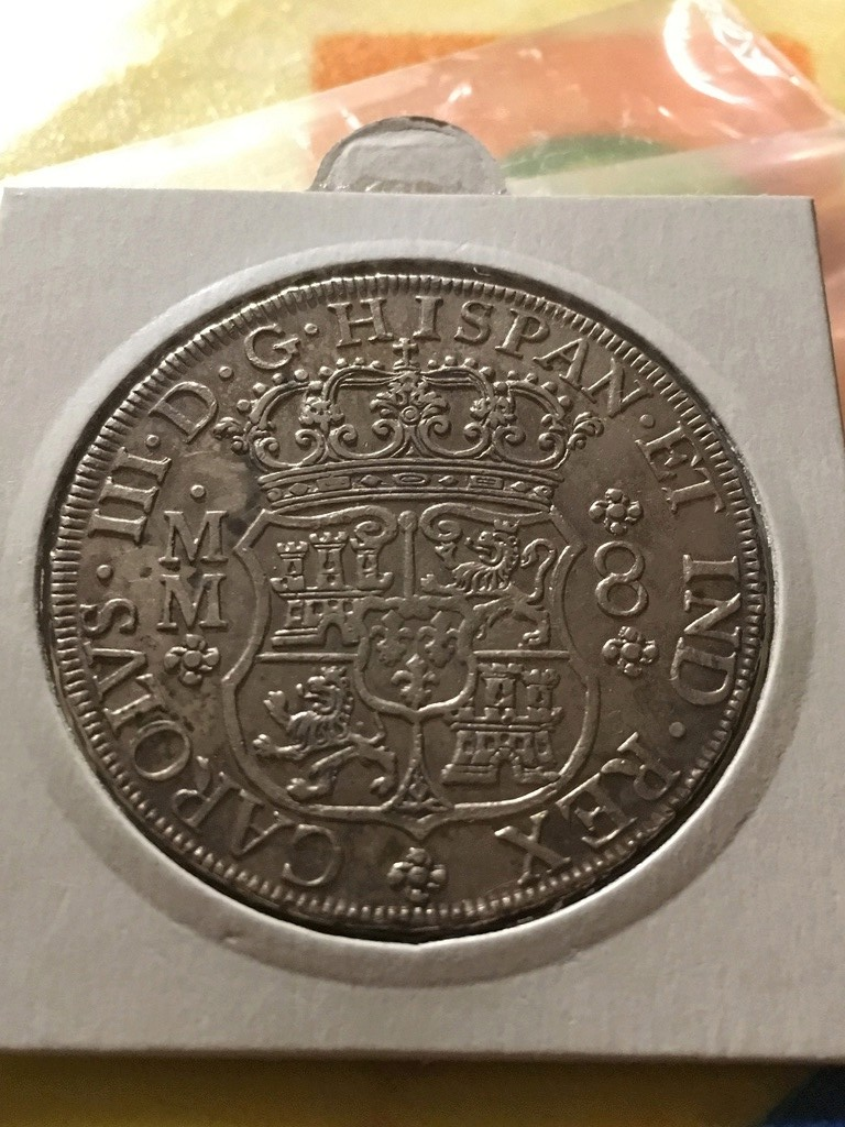 8 Reales Carlos III, México 1762 Img_4910