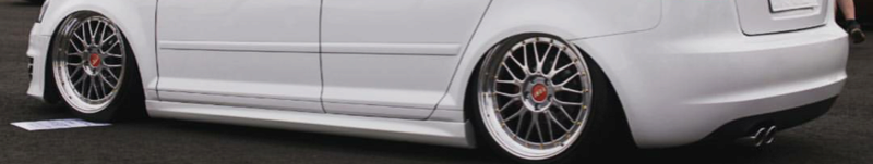 Laadukkast muovihelmat Audi A3 8P Sportback Img_2012