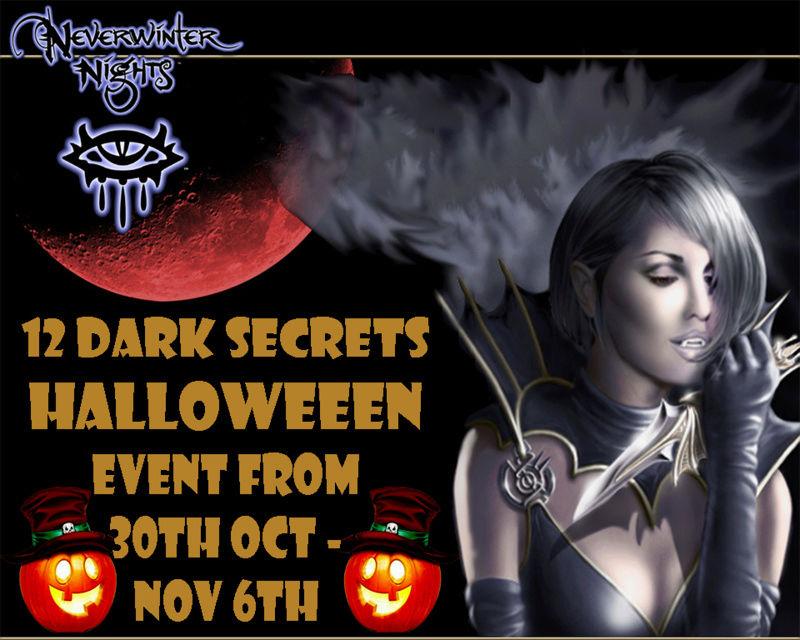 12 Dark Secrets Event 30th OCT - 6th NOV Hallow10