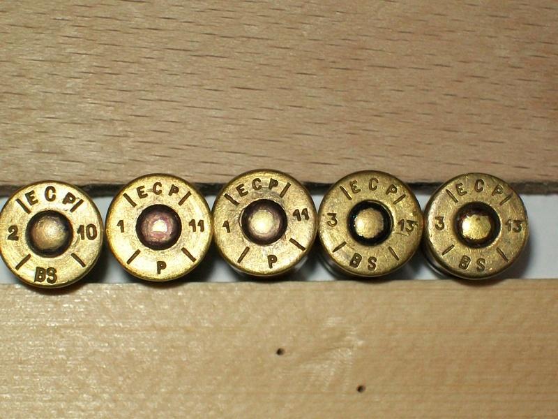 Cartouches 11,73 mm pour revolver 1873 100_4133