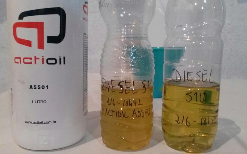 Degradação do diesel e o biodiesel 20180610