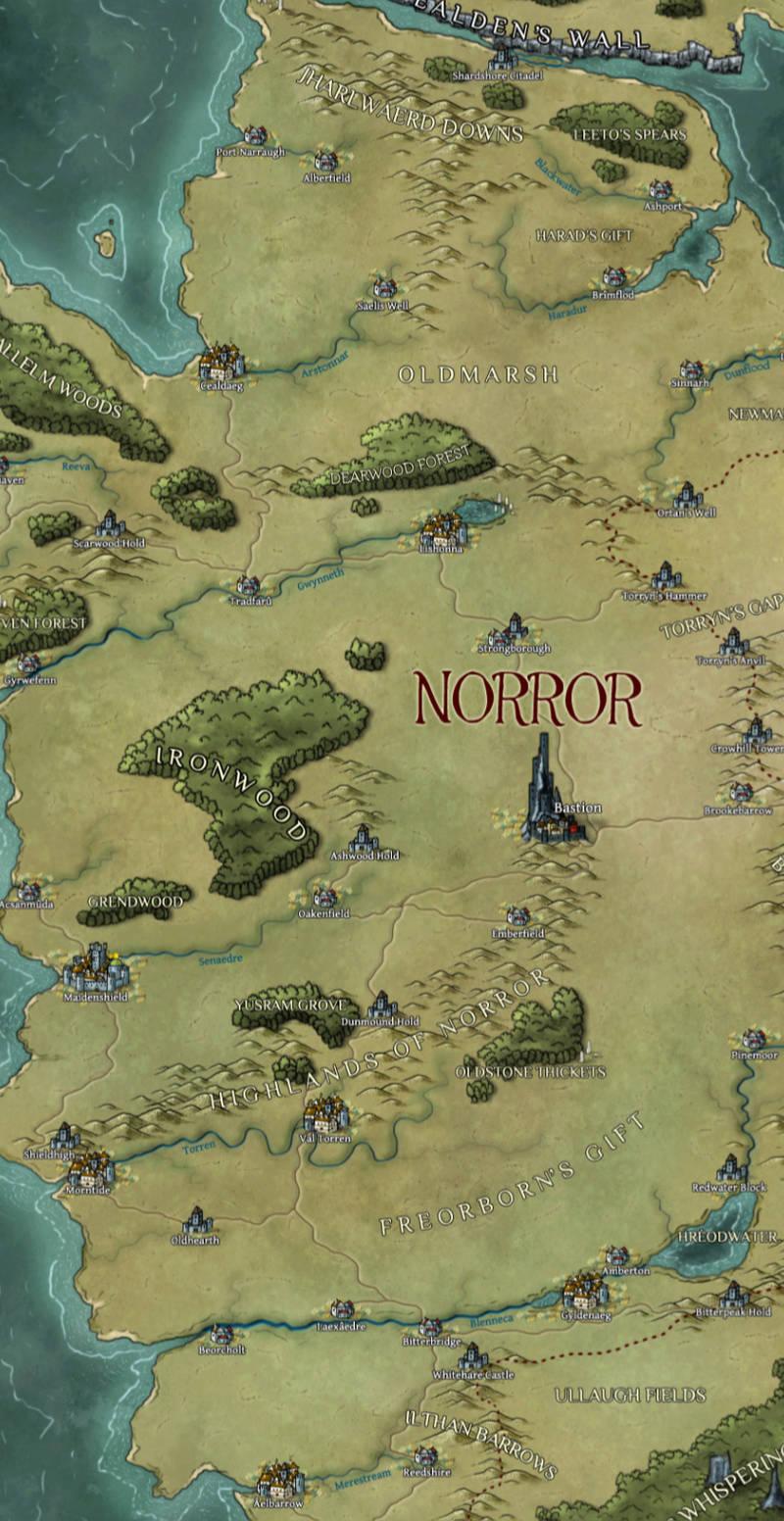 Royaume du Norror, le Bouclier Norror10