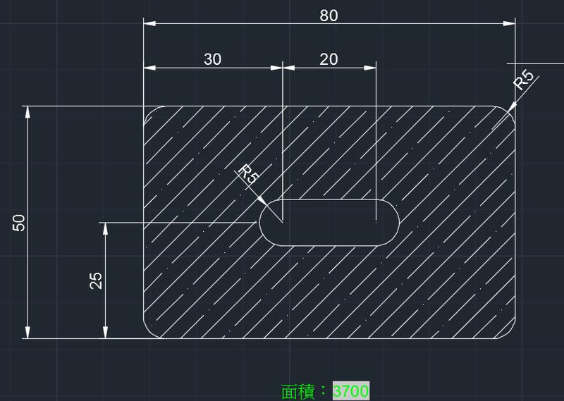 AutoCAD教學 幾何圖形習題01 2018-010