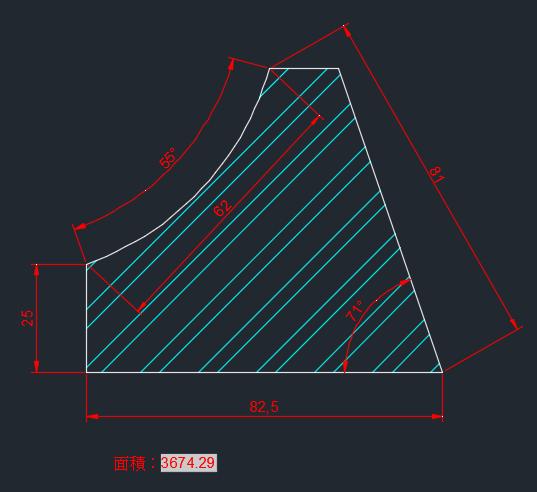 AutoCAD教學 幾何圖形習題04 2018-011