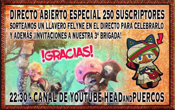 Anuncios directos youtube HeadAndPuercos Anunci10