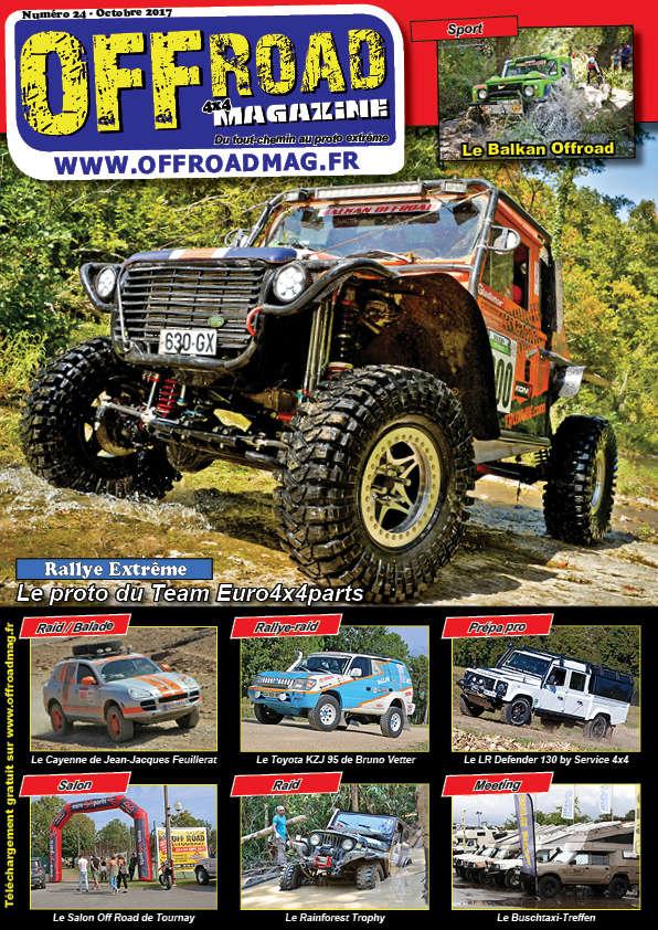 Le numéro 24 d'Offroad 4x4 Magazine est en ligne ! Numero10