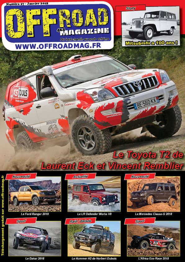 Le numéro 27 d'Offroad 4x4 Magazine est en ligne ! Numero11